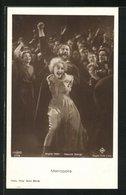 AK Schauspieler Brigitte Helm Und Heinrich George In Einer Filmszene Aus Metropolis Von Fritz Lang, Bauhaus - Acteurs