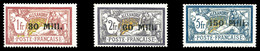 * N°47/49, Les 3 Exemplaires SUP (certificat) - Alexandrie (1899-1931)