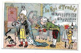 Chromo CHICOREE BERIOTà Lille Belle Jardinière - Musique, Le ROI D'YVETOT - Tea & Coffee Manufacturers