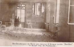 EVENEMENT ( Militaria ) BOMBARDEMENT De PARIS Par Canon à Longue Portée - BERTHAS 11 Avril 1918 La Maternité - CPA Photo - Andere