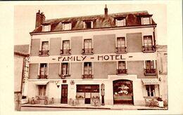 Carte 1930 LANGEAIS / FAMILY HOTEL - BAR RESTAURANT - Langeais