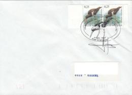 FDCOM079 - Huîtrier Pie - 1985-.. Vögel (Buzin)