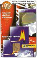 Algeria - PTT/Monetel - Caar, Gem1A Symmetr. Black, 1996, 140Units, Used - Algeria
