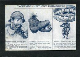 CPA - Illustration - Inventions Et Dernières Nouveautés - Cachet Hôpital Auxiliaire N° 107 Au Verso - Humor
