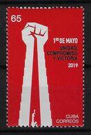 CUBA 2019. CHE. PRIMERO DE MAYO. LABOR DAY. MNH. - Unused Stamps
