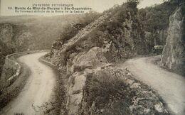 CPA Années 1920  Automobile Sur Route De MUR-DE-BARREZ-Ste Geneviève - Aurillac - Laguiole - Aubrac Rodez BEL ETAT - France