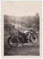 """MOTOCICLETTA - """" BIANCHI """"  - MOTORCYCLE - FOTOGRAFIA  ORIGINALE ANNO 1936 - Automobili"""