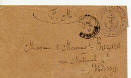 E 1 19...lettre Défense Fixe De Port Louis - Seepost