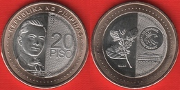 "Philippines 20 Piso 2019 ""New Generation Currency - Quezon"" BiMetallic UNC - Philippines"