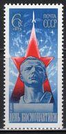 1975 USSR Mi# 4342 Cosmonautics Day. Space MNH ** P515 - Nuevos