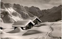 Mürren - Im Blumental (8009) * 26. 12. 1955 - Phot. Gyger - BE Berne