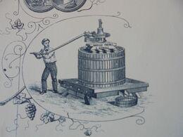 FACTURE - 37 - DEPARTEMENT DE L'INDRE ET LOIRE - AMBOISE 1897 - PRESSOIRS, FOULOIRS, ....MABILLE FRERES - France
