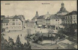 DEUTSCHLAND BONN Martinsplatz. Used 1906 - Bonn