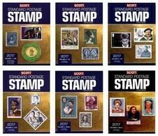 Scott 2017 Standard Postage Stamp Catalogue Catalog Volume 1-6 FREE SHIPPING - Postzegelcatalogus