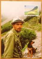 Liechtenstein 2005: Alphirte Mit Hund Auf Bargälla Zu 1326 Mi 1383 Yv 1324 Auf MK NO. 245 A EINZELN ISOLÉE SINGLE - Cani