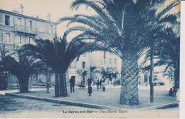 CPA  La Seyne Sur Mer Place Martel Esprit - La Seyne-sur-Mer