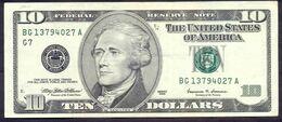USA 10 Dollars 1999 G  - XF # P- 506 < G7 - Chicago IL > - Biljetten Van De  Federal Reserve (1928-...)