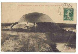 LOIRE-ATLANTIQUE - LE POULIGUEN - A Travers Les Marais Salants - Un Gros Mulon De Sel - Le Pouliguen