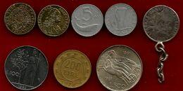 Petit Lot Pièce & Jeton France Et Italie - Mezclas - Monedas