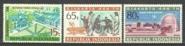 Indonesia 1971 Mi 688-690 MNH - Indonésie