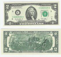 USA  2 Dollars 2013 Philadelphia UNC - Biljetten Van De  Federal Reserve (1928-...)