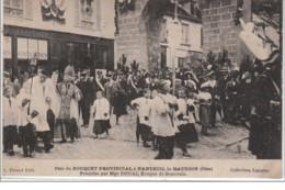 NANTEUIL LE HAUDOIN : Fêtes Du Bouquet Provincial En 1911 - Très Bon état - Sin Clasificación