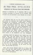 Halewijn, Halluin, Kortrijk, 1969, Paul Speleers; Van Gheluwe - Imágenes Religiosas