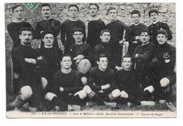 Aix-en-Provence . - Arts Et Métiers . - Union Sportive Gadzarienne . - 1ere Equipe De Rugby. - Aix En Provence