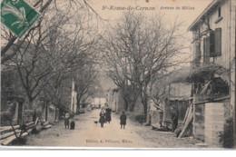 SAINT ROME DE CERNON : L'avenue De Millau Vers 1910 - Très Bon état - France