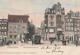 Hollande Amsterdam Haarlemmerstraat 1903 CPA TBE - Amsterdam
