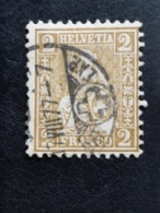 Schweiz / Suisse HELVETIA YT:42A 1867-78 - Unclassified