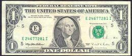 USA 1 Dollar 1995 E  - VF # P- 496 < E - Richmond VA > - Biljetten Van De  Federal Reserve (1928-...)