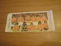 Stoke City UK U.K. Football Team Old '70s Greek Trading Banknote Style Card - Sammelkartenspiele (TCG, CCG)