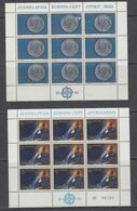 Europa Cept 1980 Yugoslavia 2v 2 Sheetlets ** Mnh (49763) Only For The Stamps - Europa-CEPT