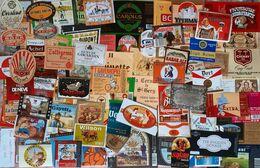 Biere Etiquette Bieretiketten Bier Etiket Beer Label Belgium Lot 011 - Bier