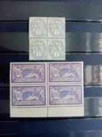 FRANCE.1900 - 1907. N° 107a.144. Type Blanc Et Mouchon.Bloc De 4 Neufs++ Côte 17,60 € - Francia