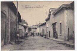 Ain - Feillens - Route De Bagé à Vésines D'une Longueur De 11 Kilomètres - Montluel