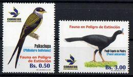 Bolivia  2017 .Birds. Fauna.  MNH - Bolivia