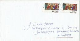 Spain Cover With ATM Frama Labels Sent To Denmark 2006 - 1931-Aujourd'hui: II. République - ....Juan Carlos I