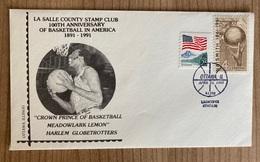 EEUU Basketball USA 1991 La Salle Harlem Ottawa - Cartas