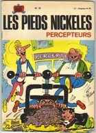 LES PIEDS NICKELES N ° 75 PERCEPTEURS  DE 1973 2 - Pieds Nickelés, Les