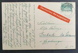 Österreich 1933, Postkarte MITTELBERG Kleinwalsertal - Brieven En Documenten