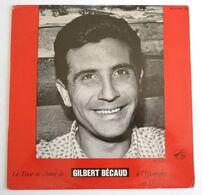 25 CM LE TOUR DE CHANT DE GILBERT BECAUD A L'OLYMPIA FDLP 1032 En 1963 - Spezialformate