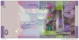 KUWAIT P. 32 5 D 2014 UNC - Kuwait
