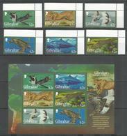 GIBRALTAR - MNH - Animals - Wild Animals - Birds - Stamps