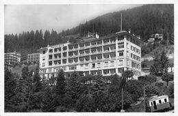Leysin Sanatorium Neuchâtelois - Beau-Site - Avec Locomotive Du TRAIN AIGLE – LEYSIN - VD Vaud