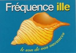 Cart'Com.   Fréquence Ille.   Rennes Et Dinan.   Radio.   Postcard. - Advertising