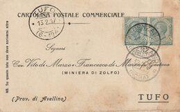 Genzano. 1917. Annullo Guller GENZANO (ROMA), Su Cartolina Postale Commerciale - Storia Postale