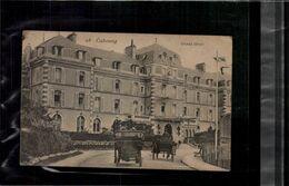 CARTE POSTALE Cabourg Grand Hôtel édit.E.J. N°28 , Animée Belle Cartenon Voyagée En L'état Sur Les Photos - Cabourg