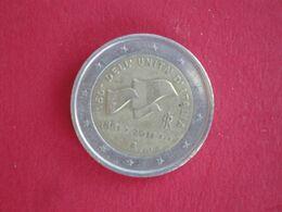 2 Euros Italie 2011 - 150 Ans De L'unification Italienne - Italia